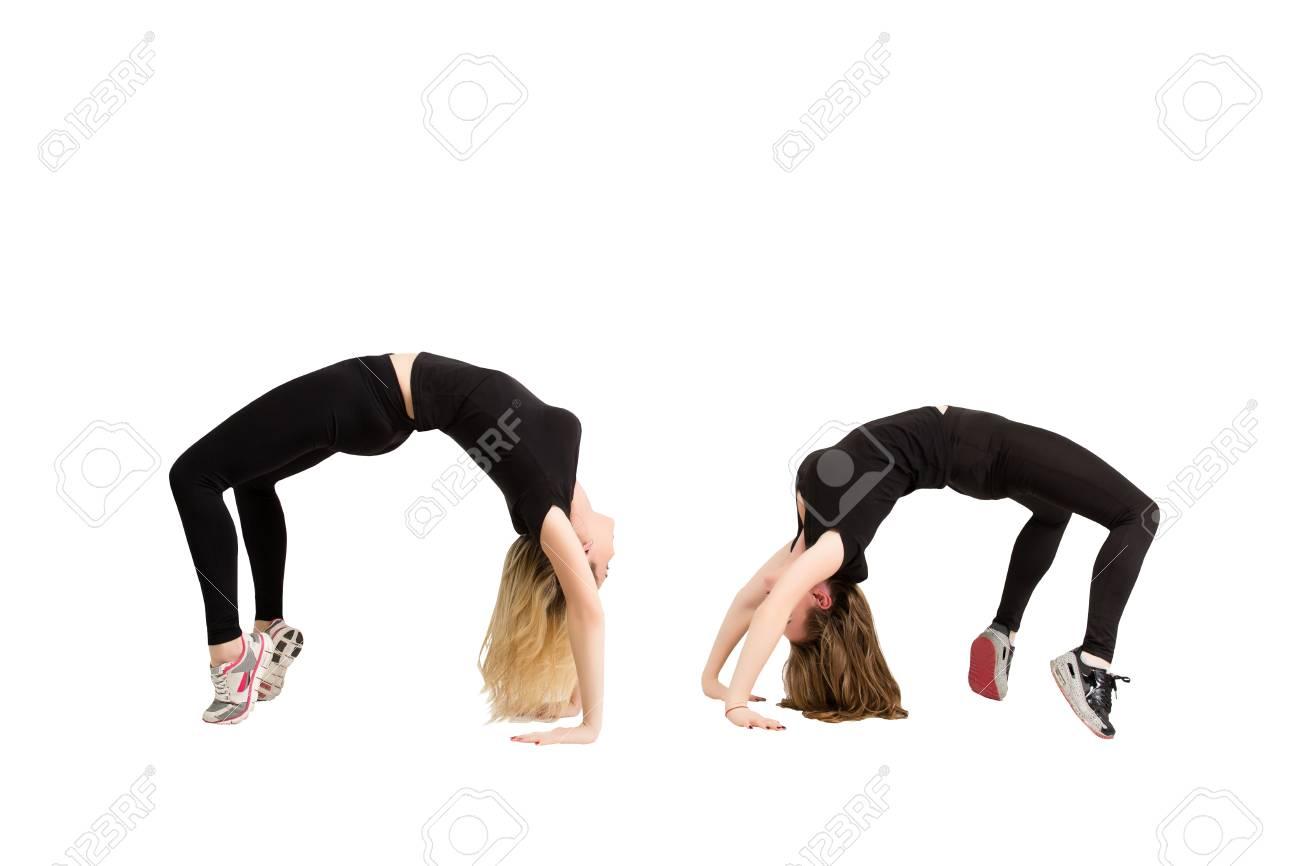 Schlanke Rückenschultern