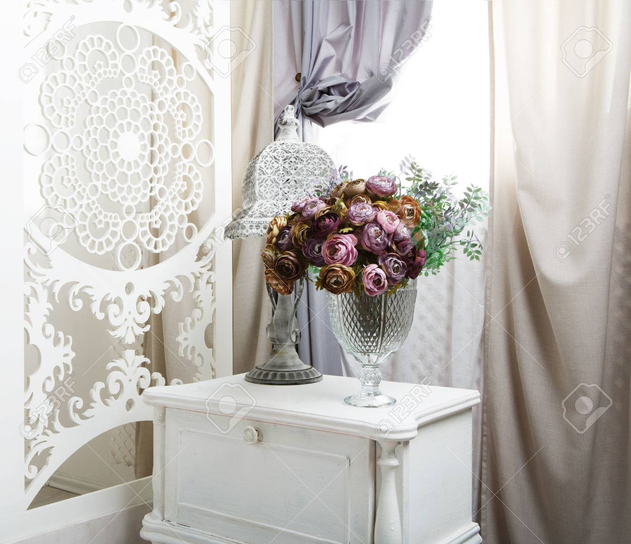 Wedding Decor, Room Decorated For Shabby Chic Rustic Wedding ...