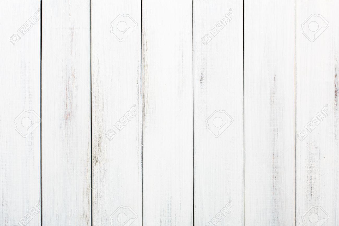 Bekannt Weiße Holztisch Textur Und Hintergrund. Weiß Lackiertem Holz MO73