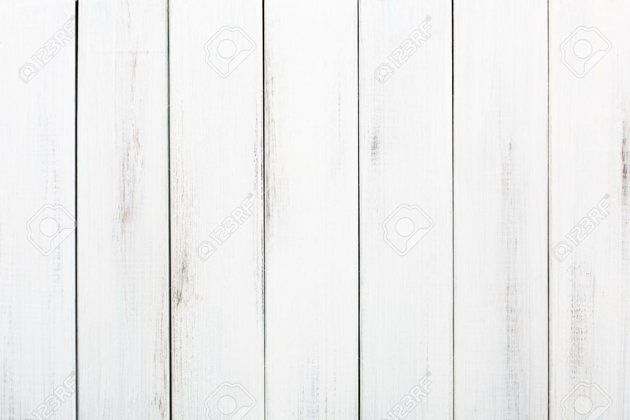 Exceptionnel Stock Photo   White Wood Table Texture And Background. White Painted Wood  Texture Background. Rustic, Shabby Chick Wooden Background.
