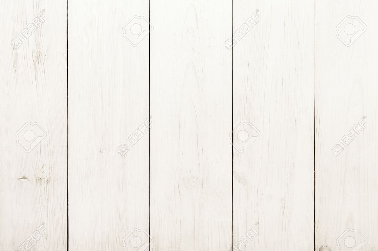 Superieur Stock Photo   White Wood Table Texture And Background. White Painted Wood  Texture Background. Rustic, Shabby Chick Wooden Background.