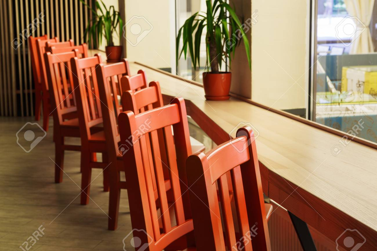 Modern Restaurant Bar Or Cafe Interior Public Place Interior Stock Photo Picture And Royalty Free Image Image 62509008