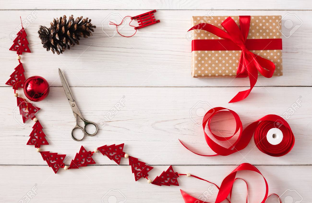 Creative Diy Hobby. Handmade Tools For Making Christmas Present ...