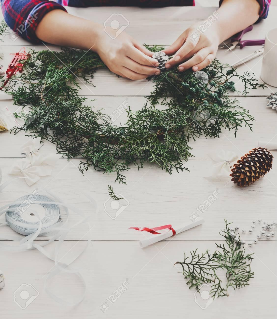 Mana Creativa Del Arte DIY Hacer Adornos De Navidad Caseras Hechas
