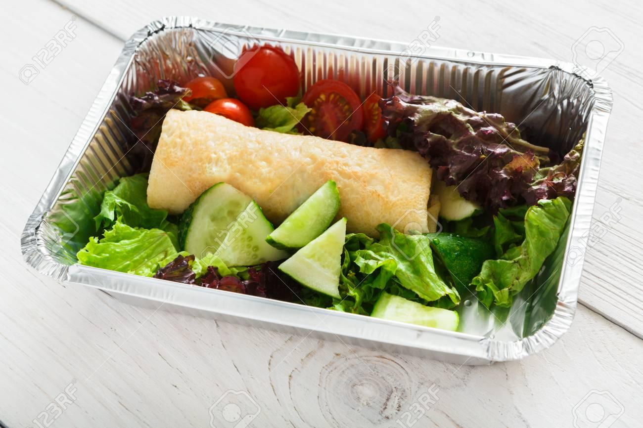 Ensaladas para llevar de almuerzo