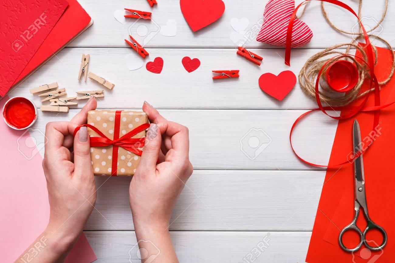 Beroemd Valentijnsdag Vakantie Met De Hand Gemaakt Of Trouw Decoraties  FO91