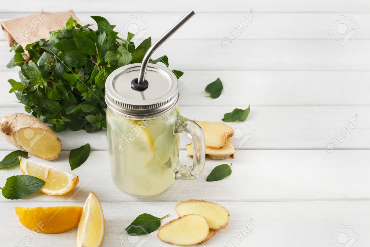 Detox Cleanse Drink Natural Lemonade Ingredients Organic Healthy