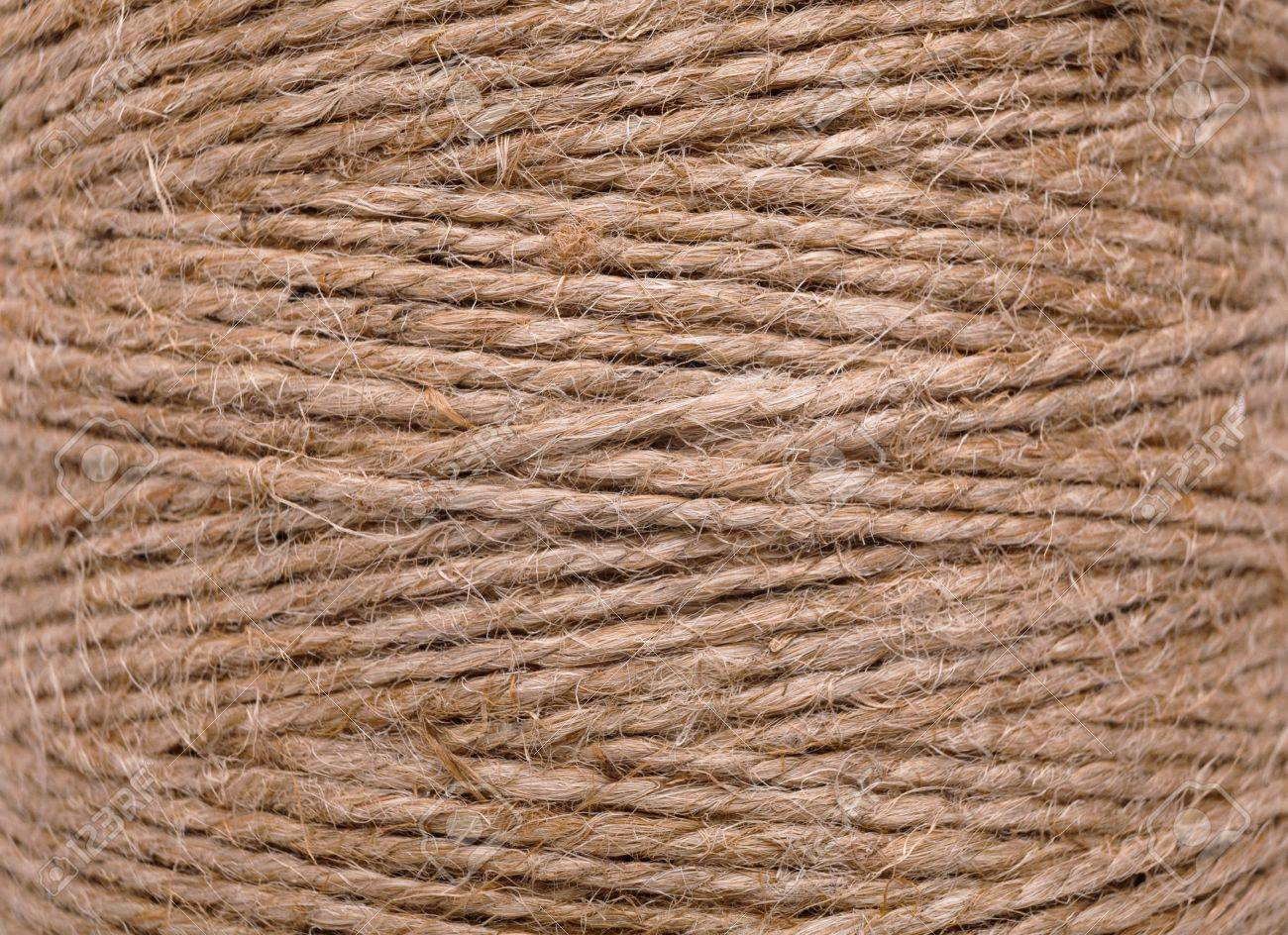 Natural Jute Twine Texture Close Up Of Twisted Rope Handmade Stock Photo Picture And Royalty Free Image Image 79095997