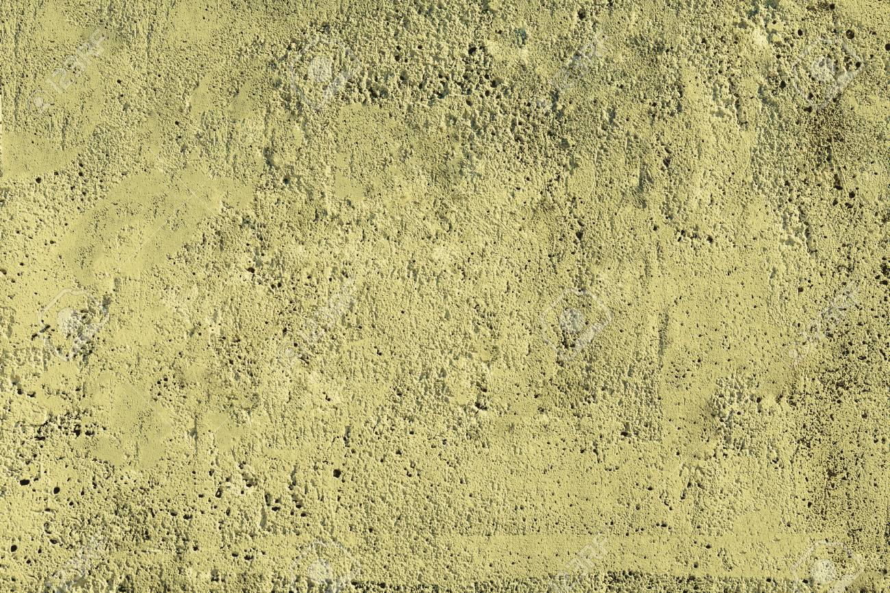 Yellow Concrete Wall Texture. Cement Stucco, Grunge Plaster Surface ...
