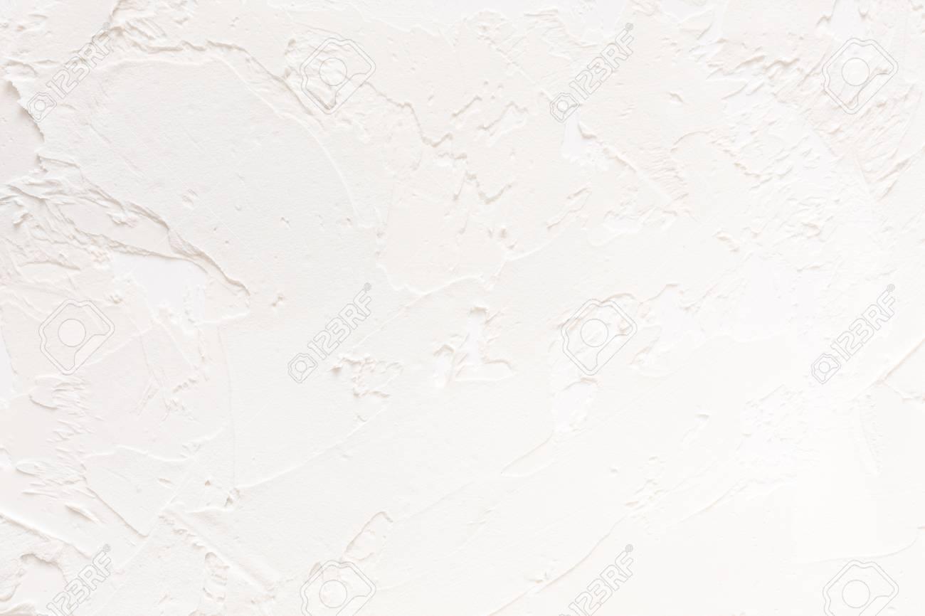 Pared Blanca Con El Fondo Del Modelo Del Yeso Contexto Con Textura