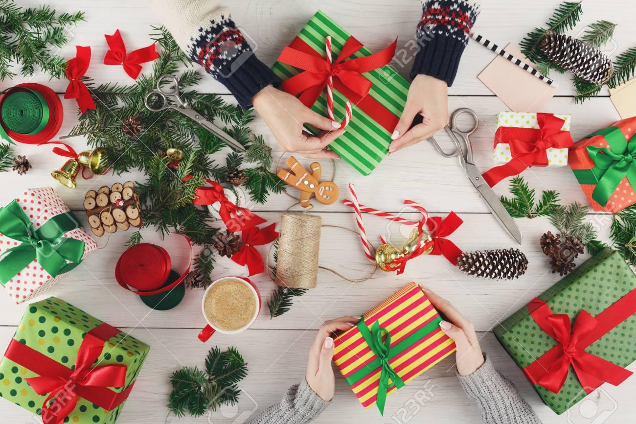 Creative Diy Hobby. Making Modern Handmade Christmas Present ...