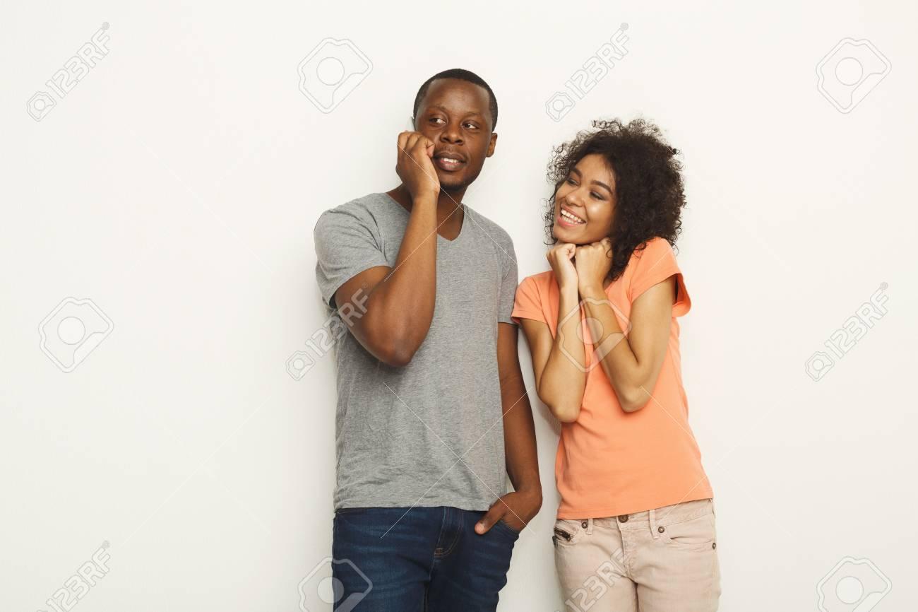 Black Ebony Couple Threesome
