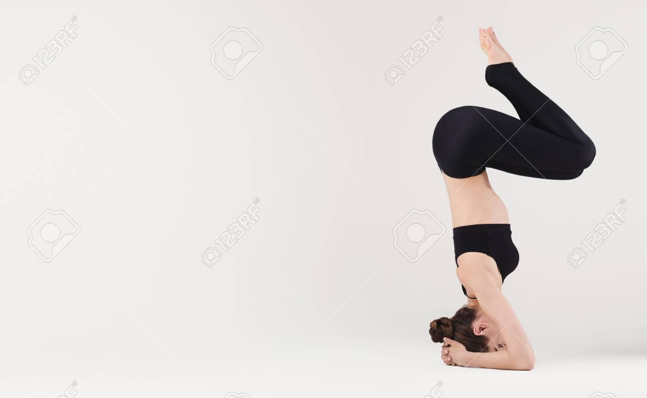 Headstand Pose Yoga