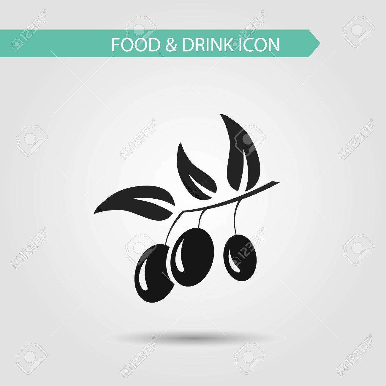 7574791a9b Vector - Vector flat stylish icon of food and drink and ingredients for  cooking. Kitchen utensils. Design elements set for website isolated on white  ...