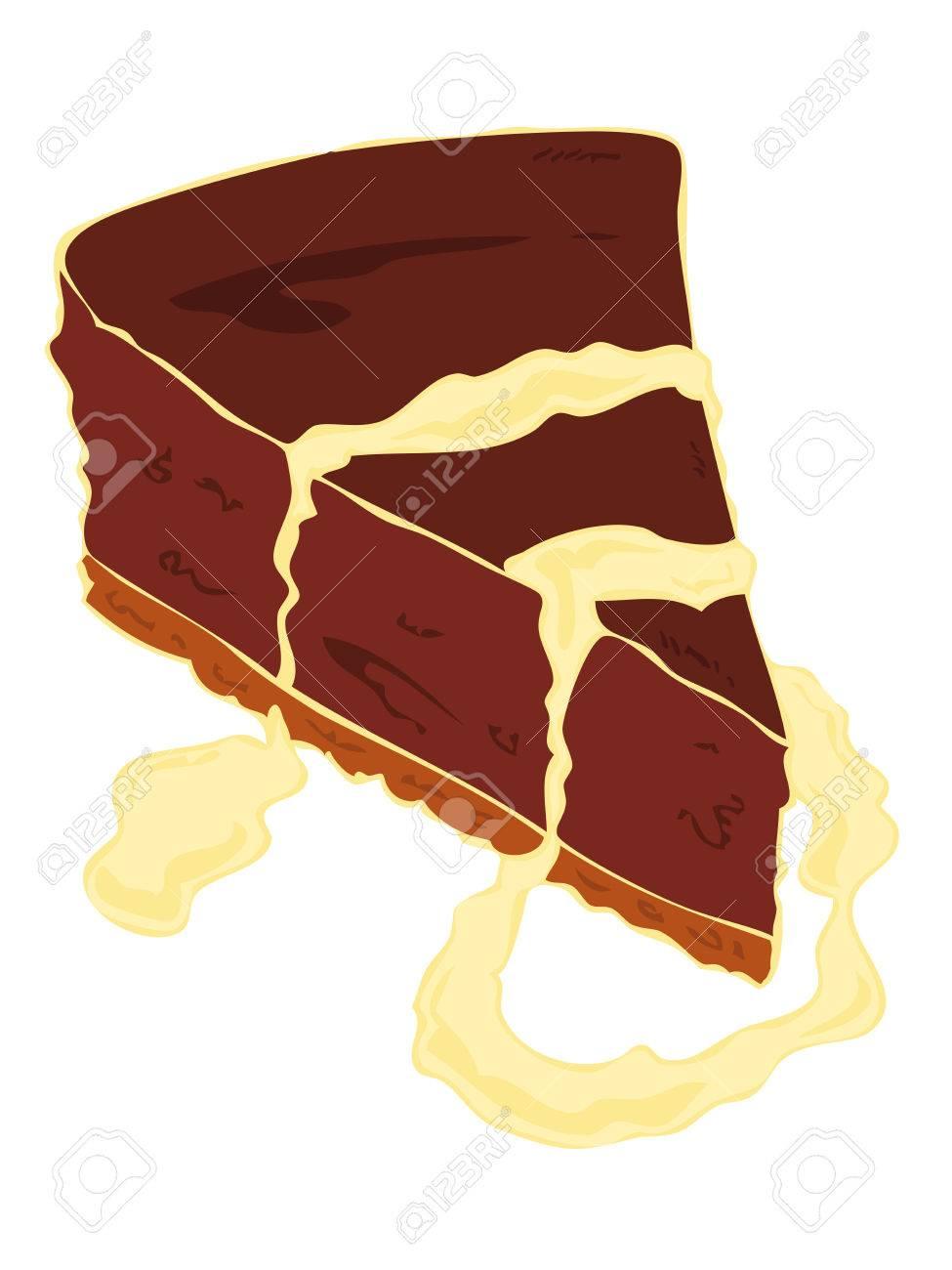 Gateau au chocolat dessin