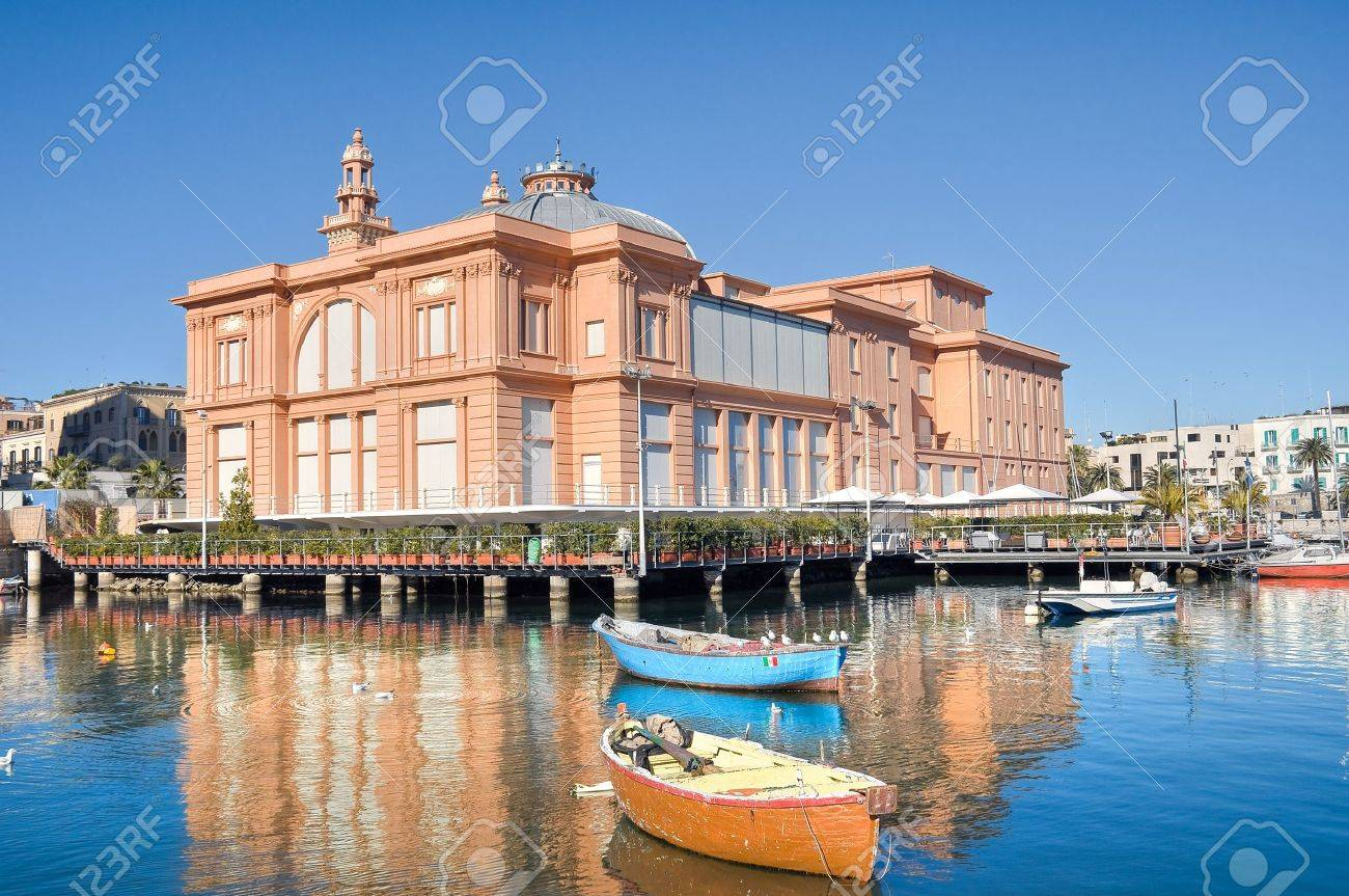 Margherita Theatre. Bari. Apulia. Stock Photo - 8790389