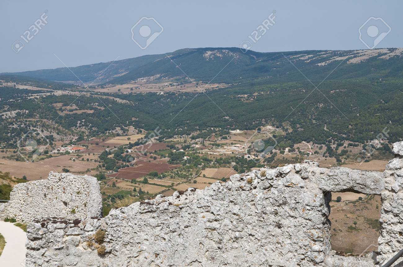 Castle of Monte Sant'Angelo. Puglia. Italy. Stock Photo - 11369669