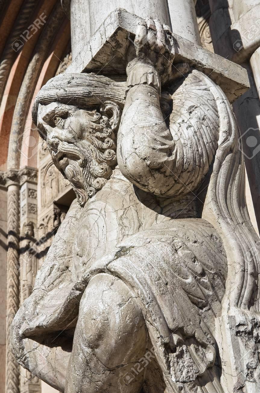 Cathedral of St. George. Ferrara. Emilia-Romagna. Italy. Stock Photo - 12394539