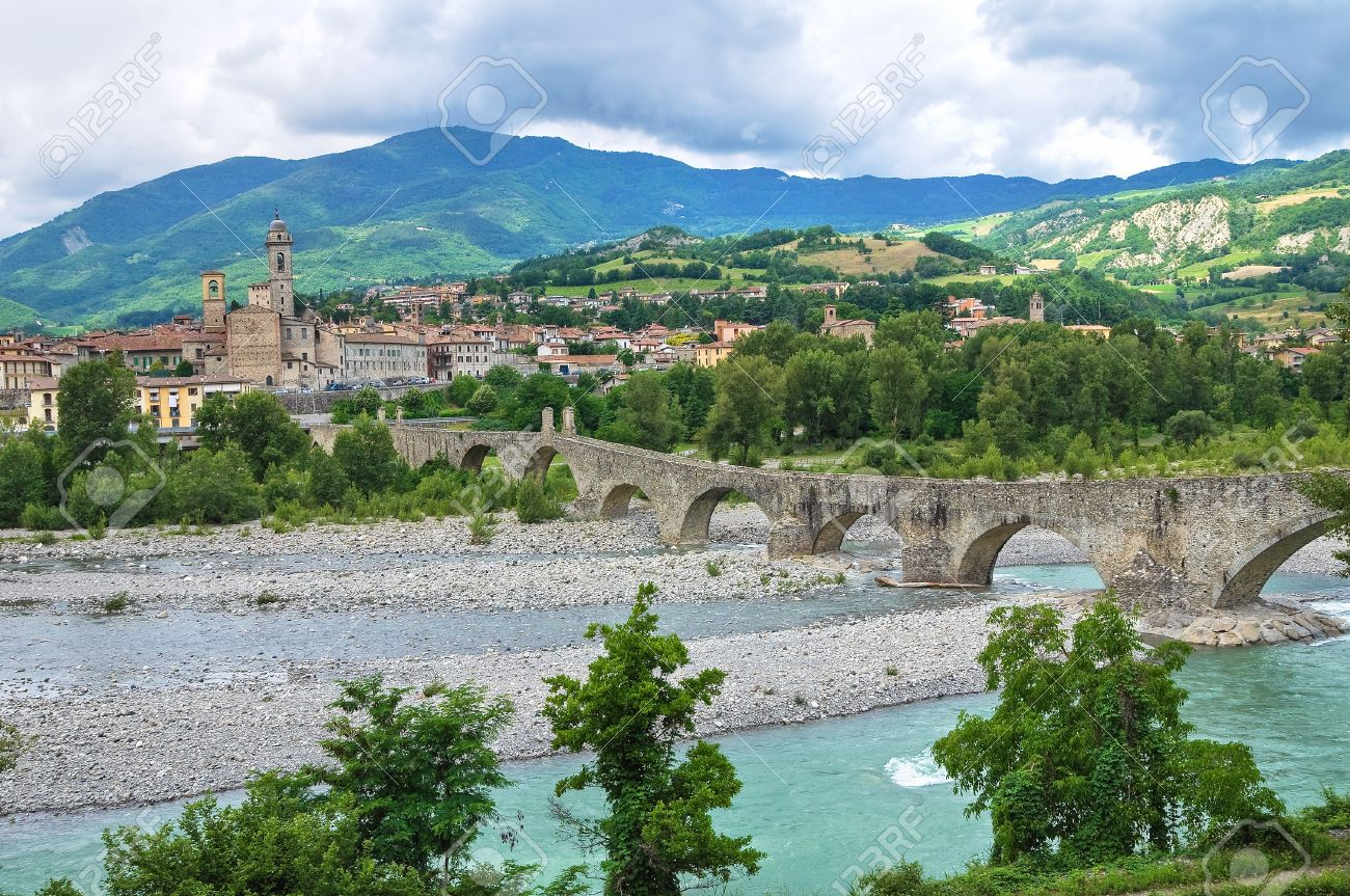 PIACENZA , ITALY - RAMBLING IN THE PROVINCE OF PIACENZA - PHOTO ALBUM
