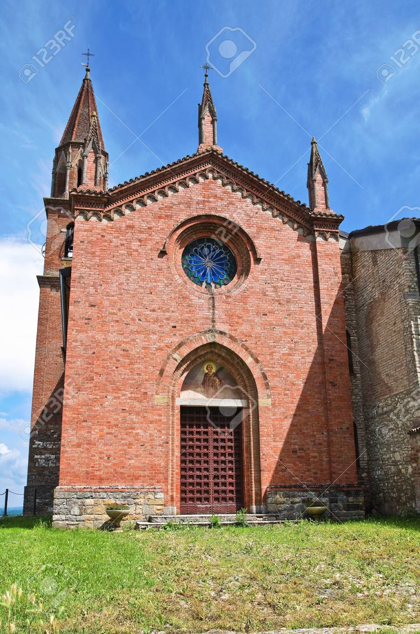 St. Lorenzo Church. Veano. Emilia-Romagna. Italy. Stock Photo - 13314701
