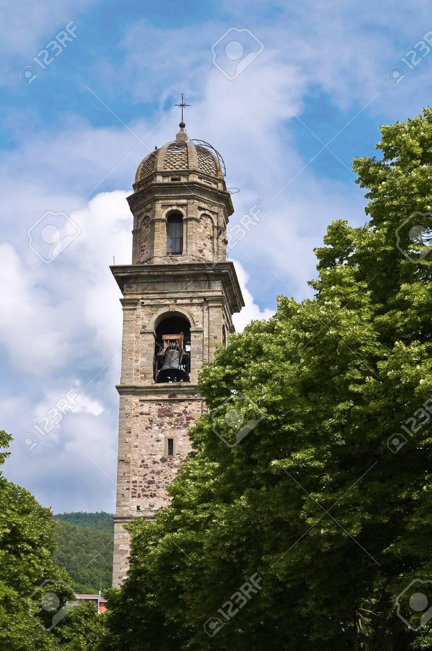 St. Giovanni Battista Church. Bardi. Emilia-Romagna. Italy. Stock Photo - 13314581