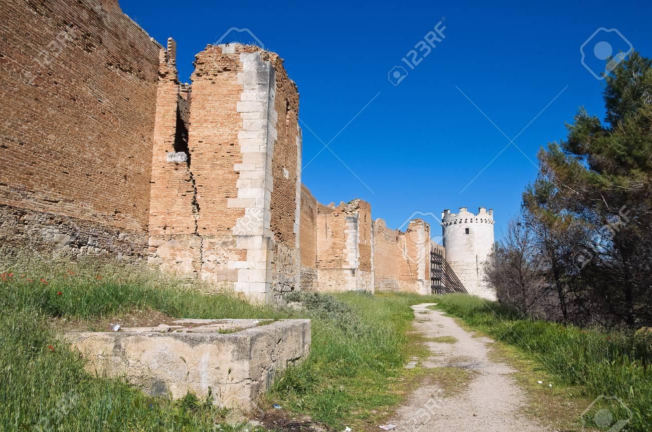 Castle of Lucera. Puglia. Italy. Stock Photo - 13386418