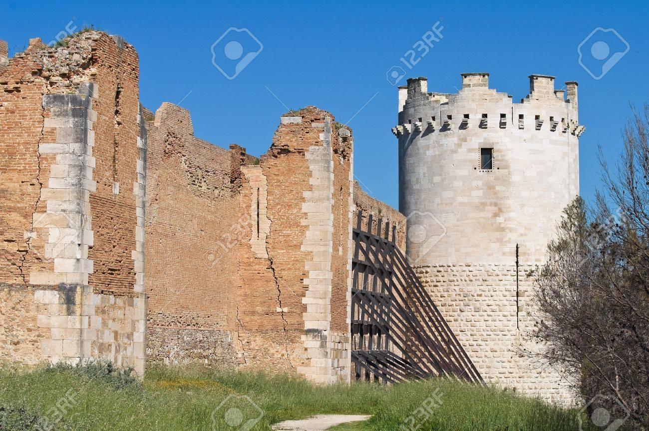 Castle of Lucera. Puglia. Italy. Stock Photo - 13386434