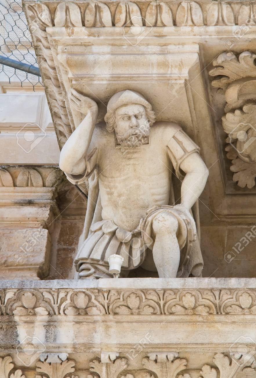 Santa Croce Basilica  Lecce  Puglia  Italy Stock Photo - 13992735