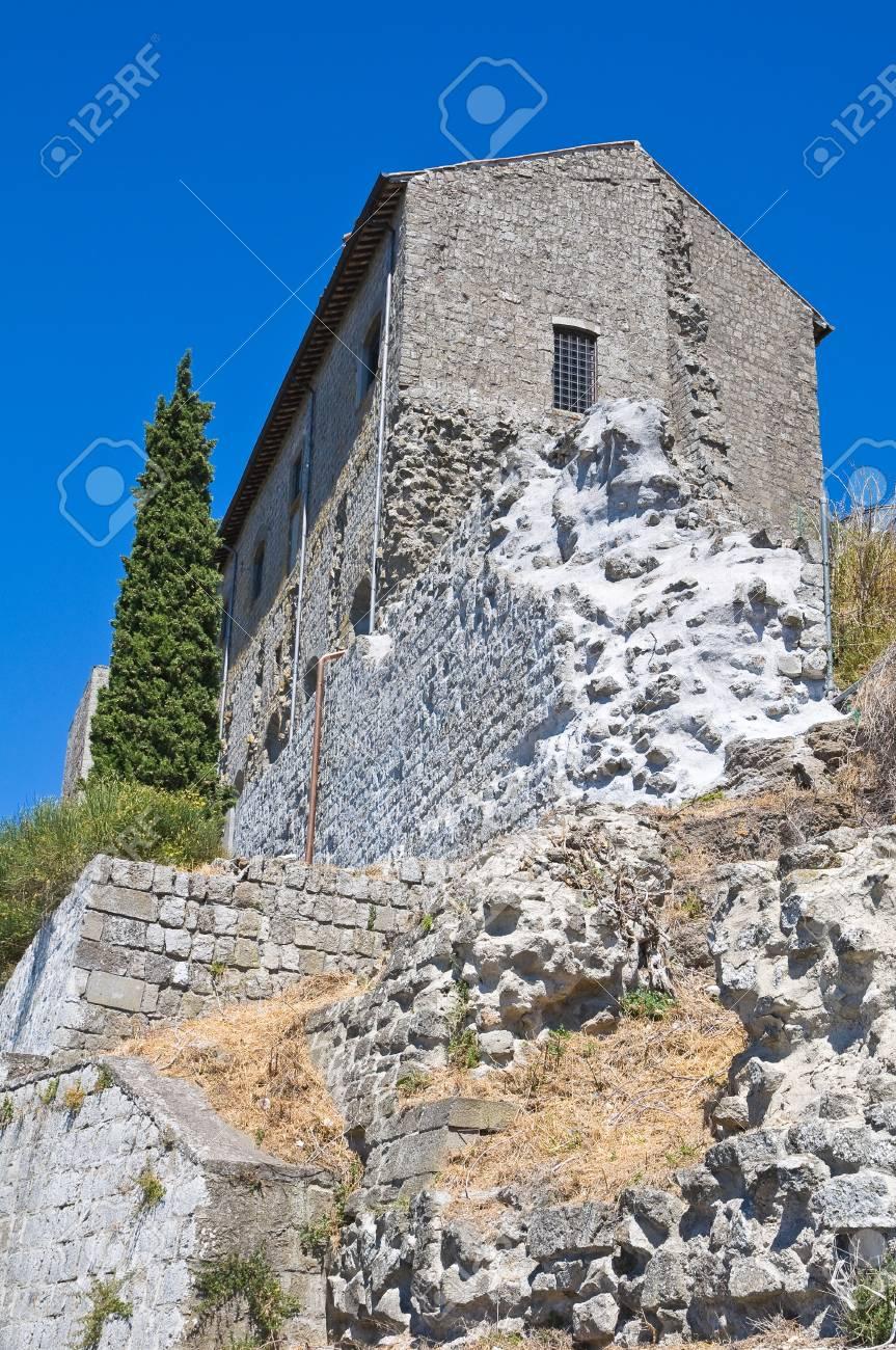 Rocca dei Papi  Montefiascone  Lazio  Italy Stock Photo - 14951007