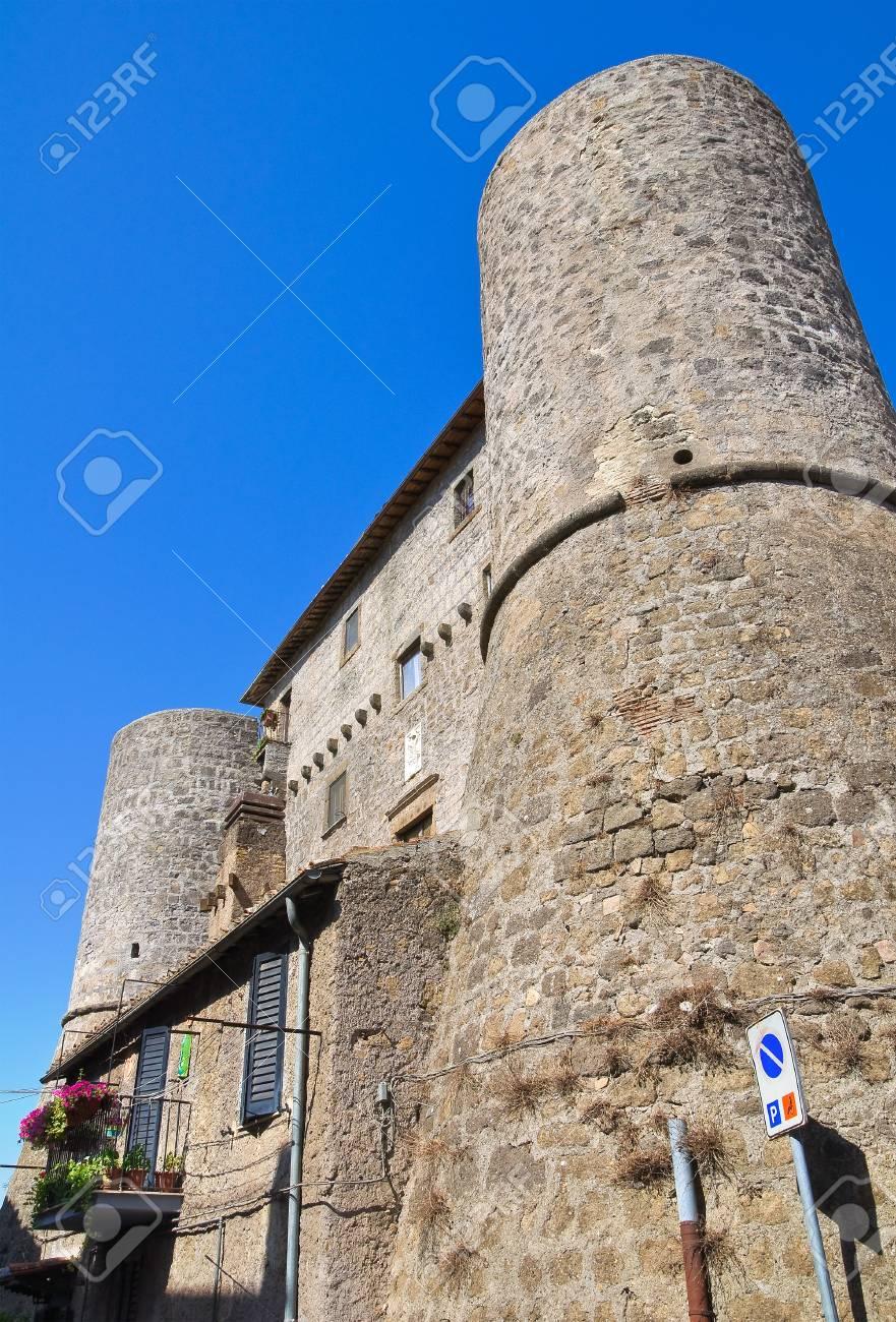 Anguillara castle  Ronciglione  Lazio  Italy   Stock Photo - 16943068
