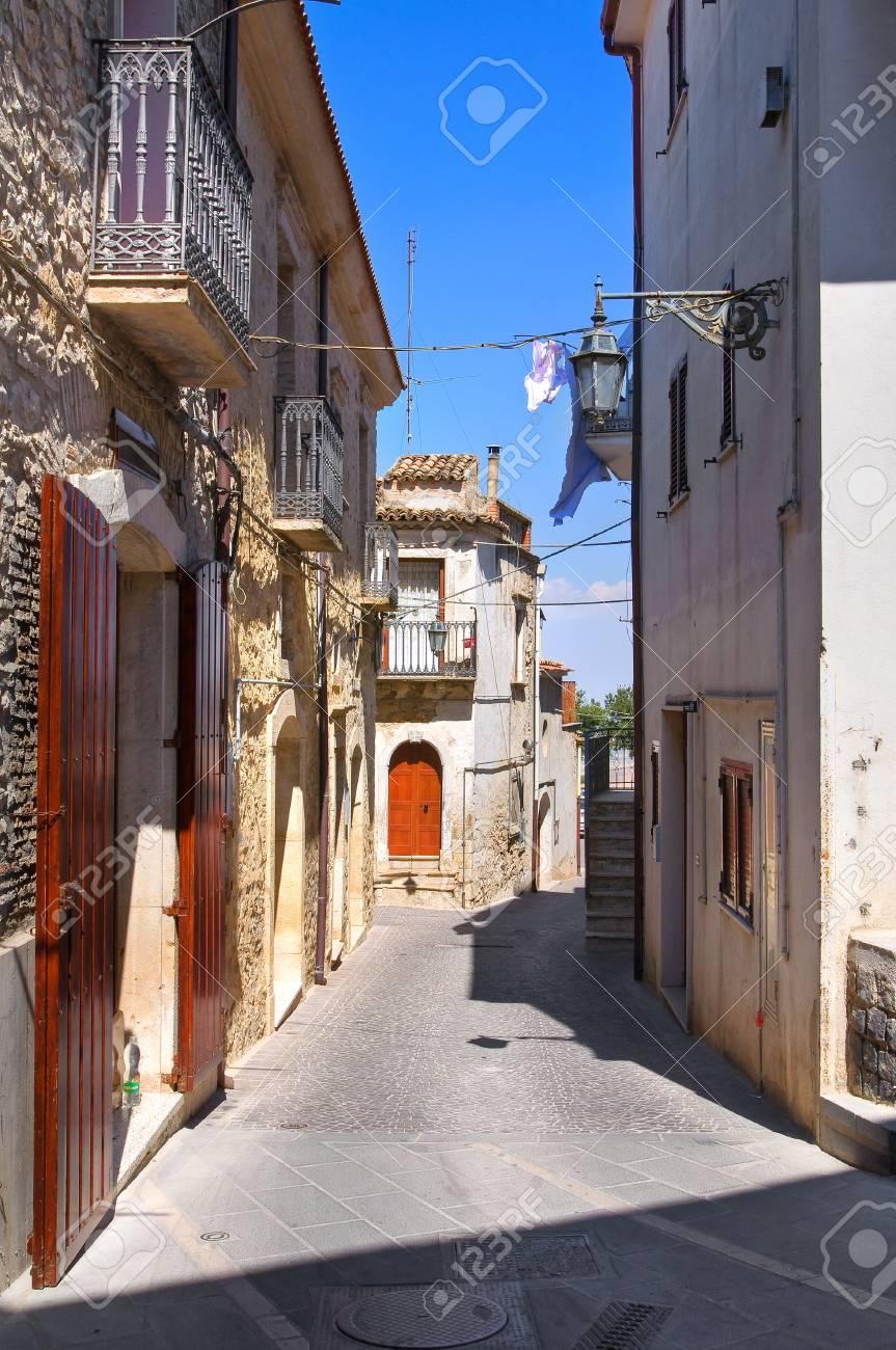 Alleyway. Deliceto. Puglia. Italy. Stock Photo - 17300514