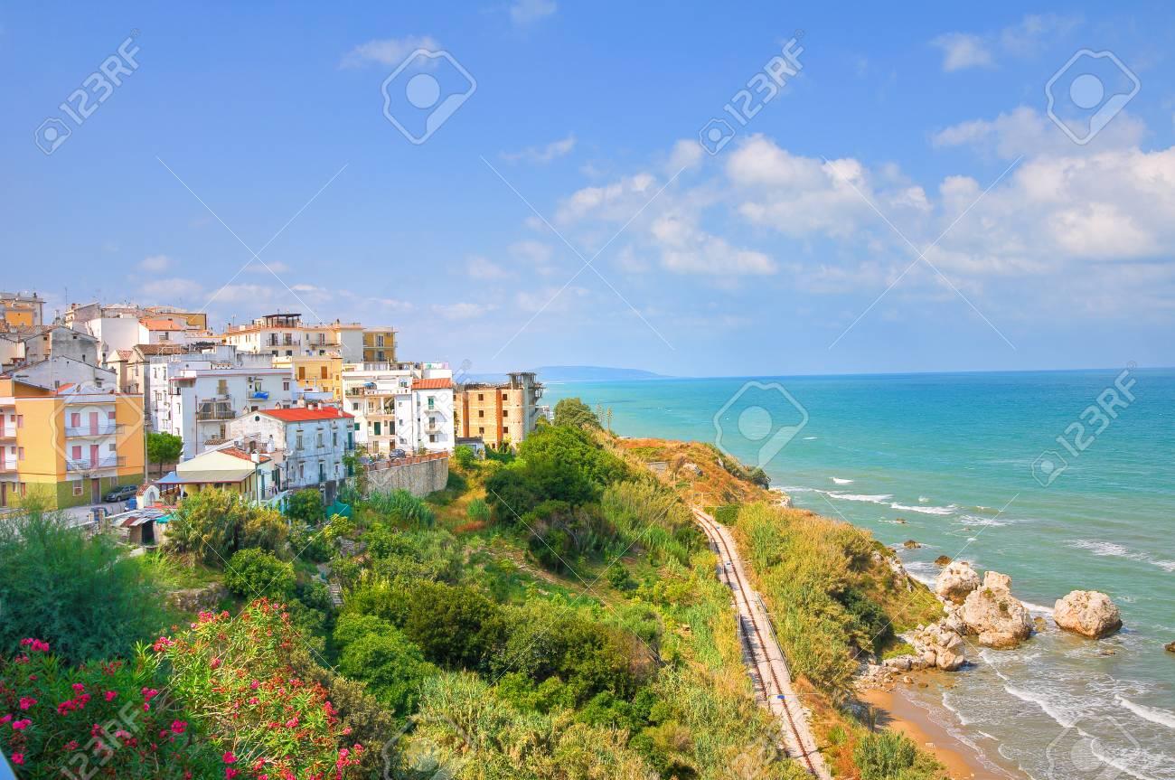 Panoramic view of Rodi Garganico. Puglia. Italy. Stock Photo - 22354623