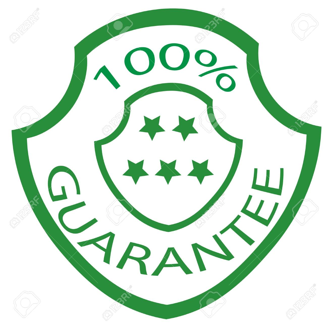 guarantee stamp Stock Photo - 3887845