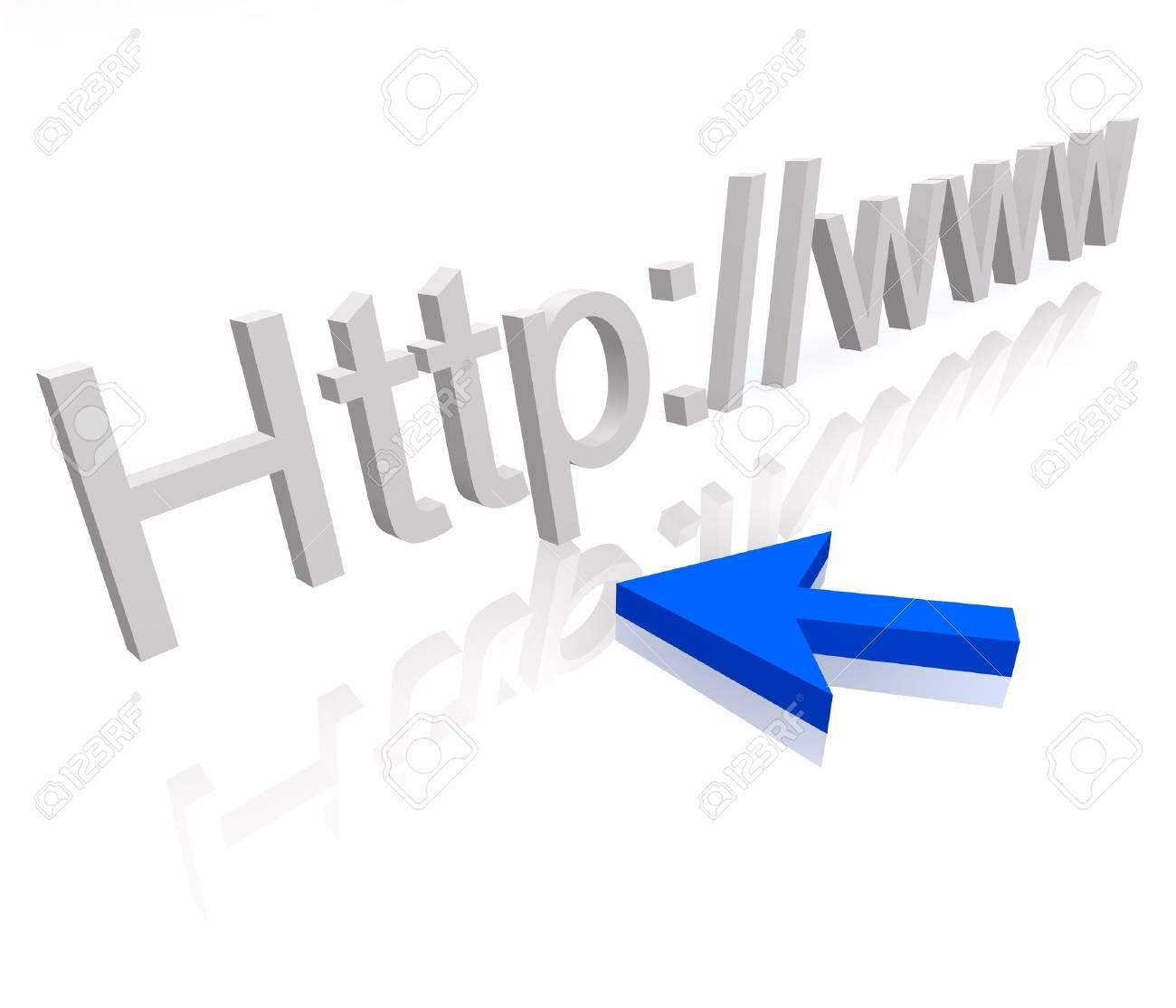 web adres Stock Photo - 3887818