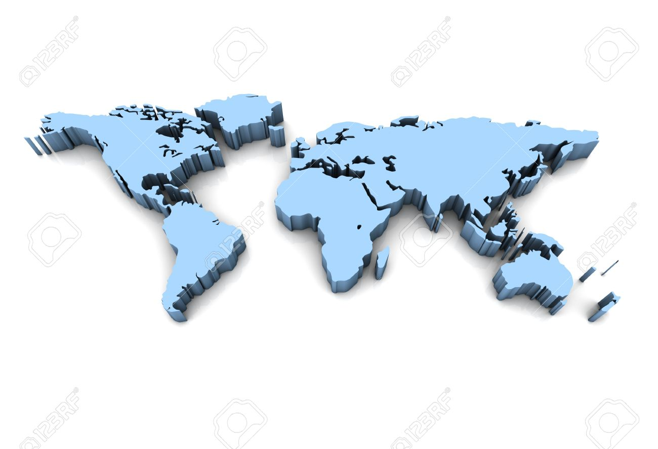 3d world map stock photo picture and royalty free image image 5630918 3d world map gumiabroncs Image collections
