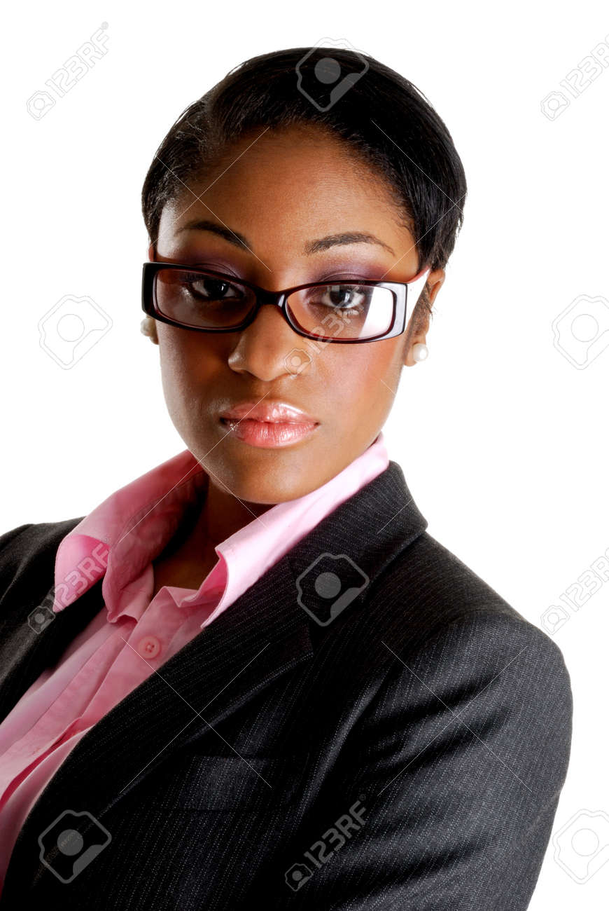 This is an image of a confident business woman. Stock Photo - 9393202