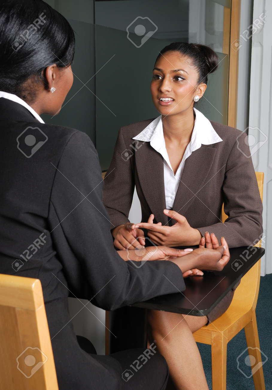 This is an image of a business team having a discussion. Stock Photo - 9436563
