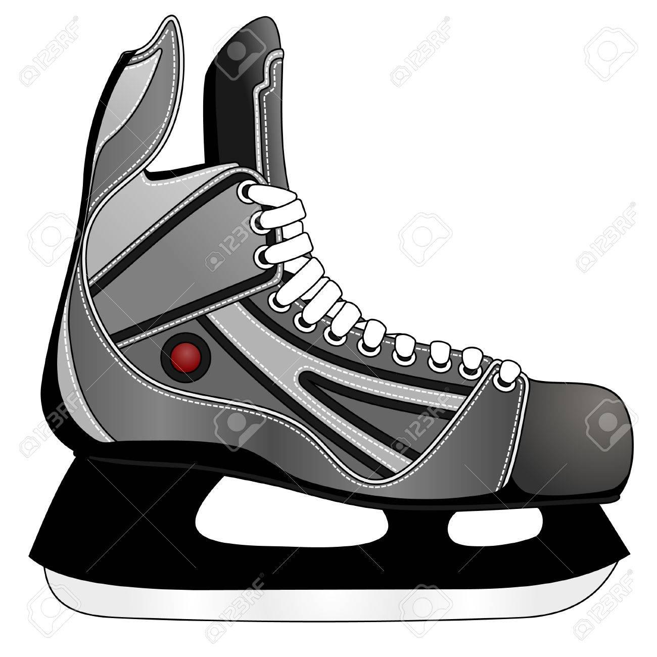 Ice hockey skates Stock Vector - 8261061