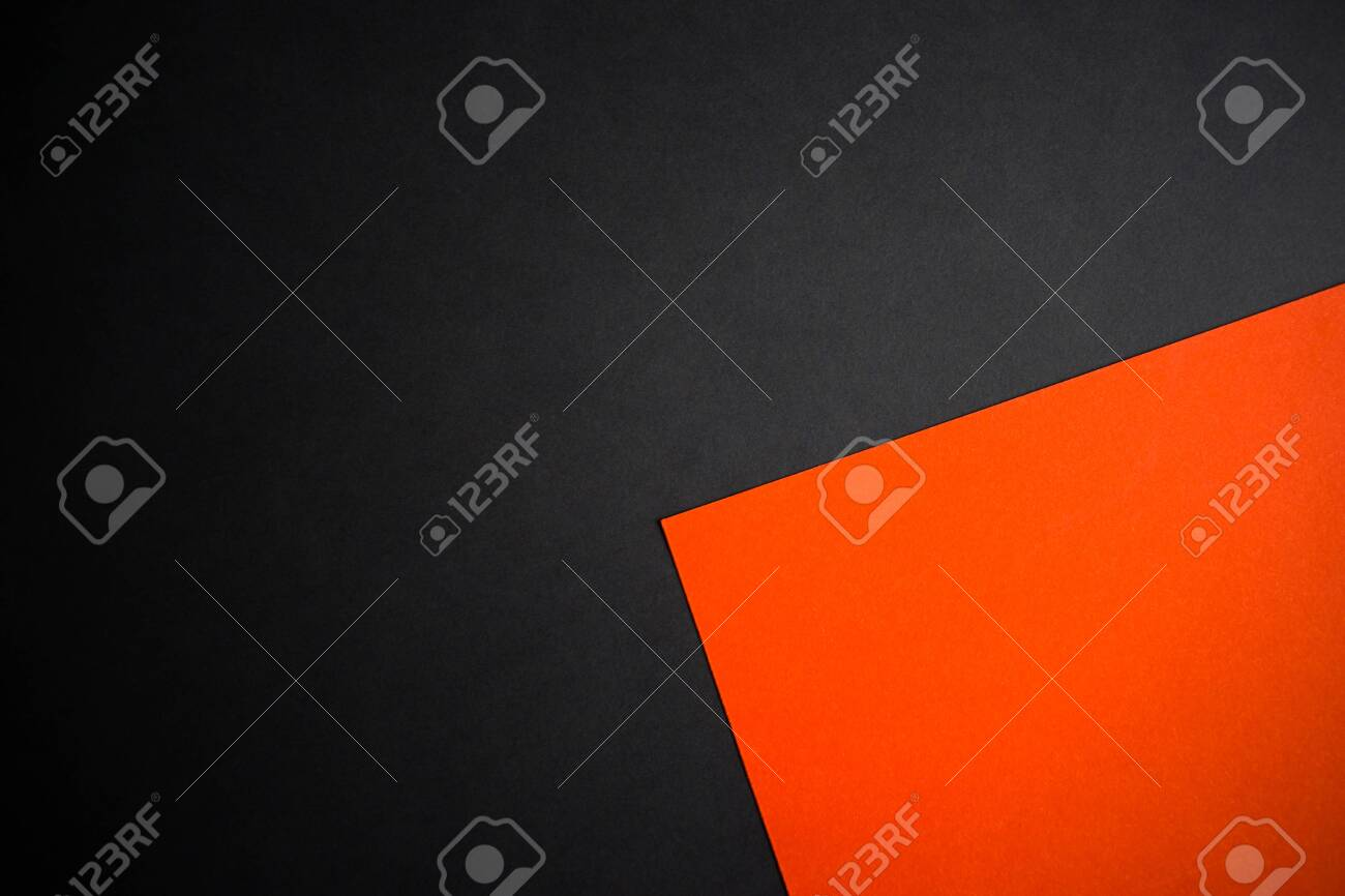 Black And Orange Abstract Divided Background Wallpaper Greeting Stock Photo Picture And Royalty Free Image Image 151926904