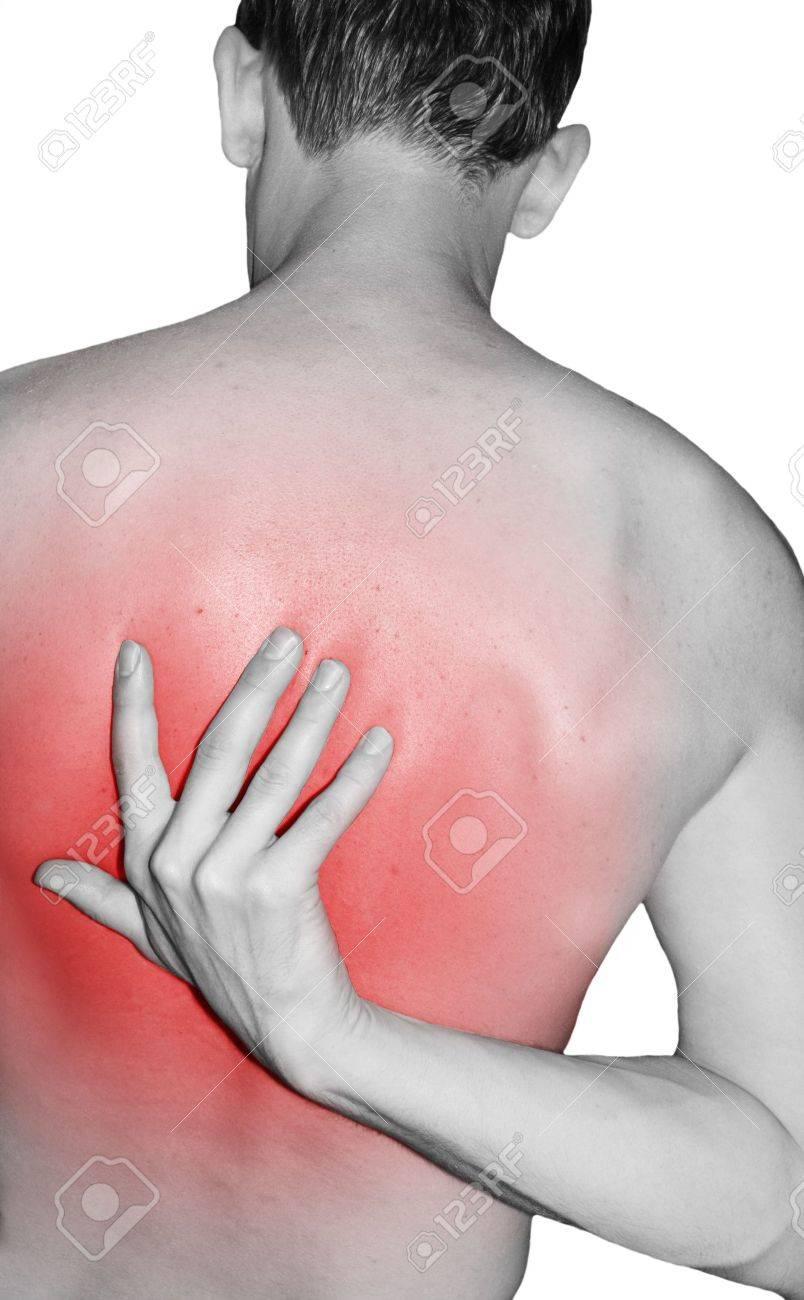 Back injury Stock Photo - 10521512