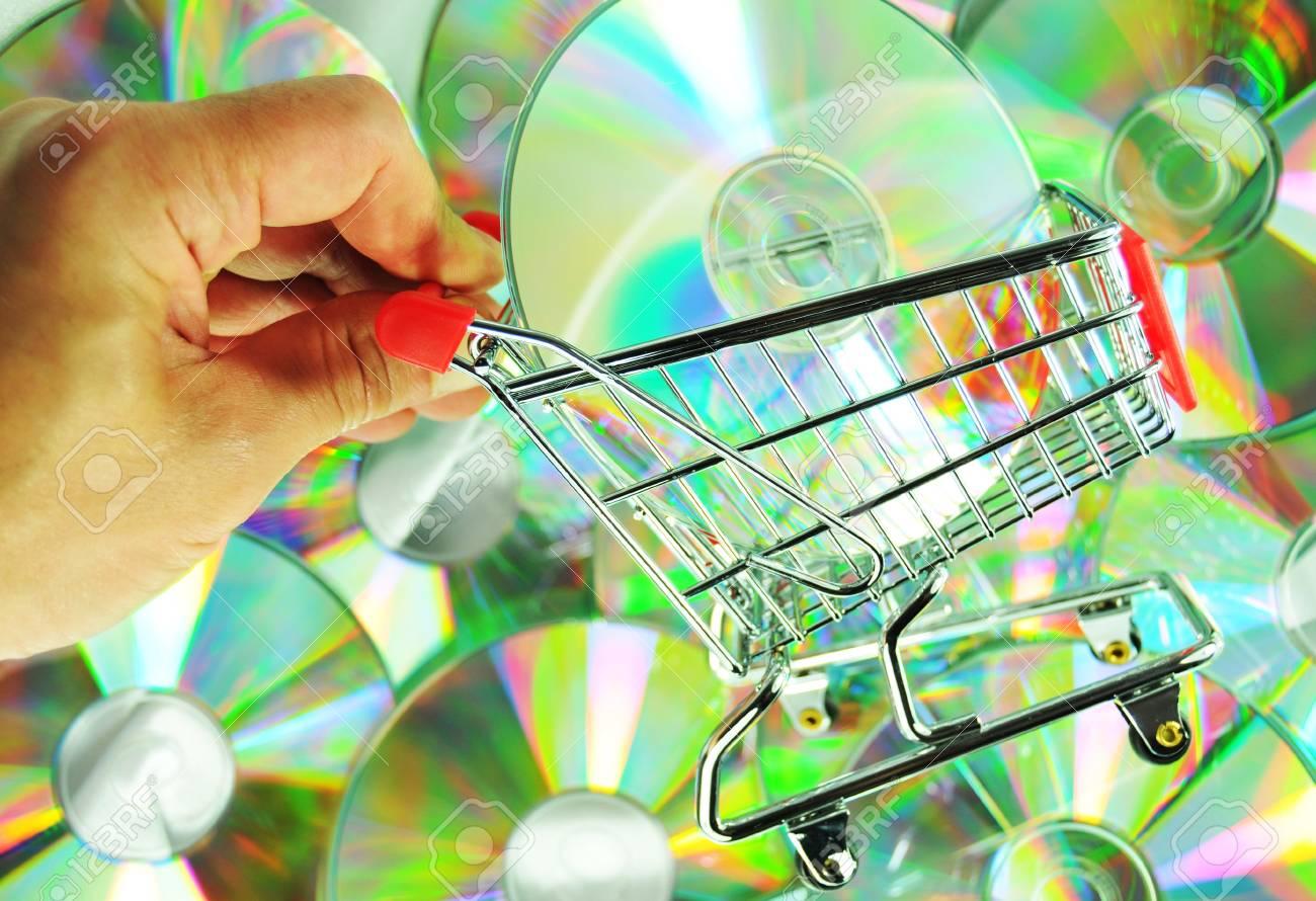 Music shopping Stock Photo - 10879365