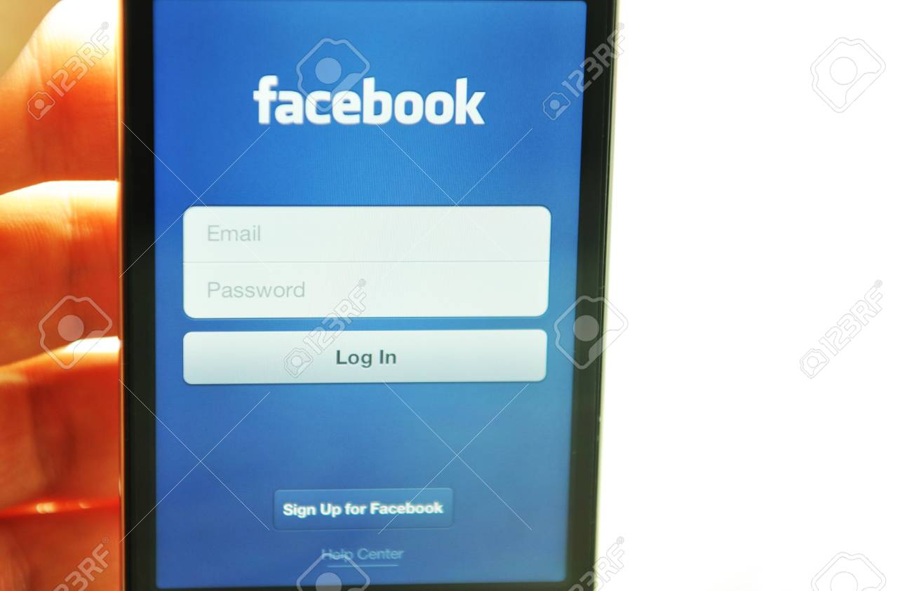 London, UK - 27 Feb, 2012: Social network concept with iPod and dedicated Facebook application Stock Photo - 12513290