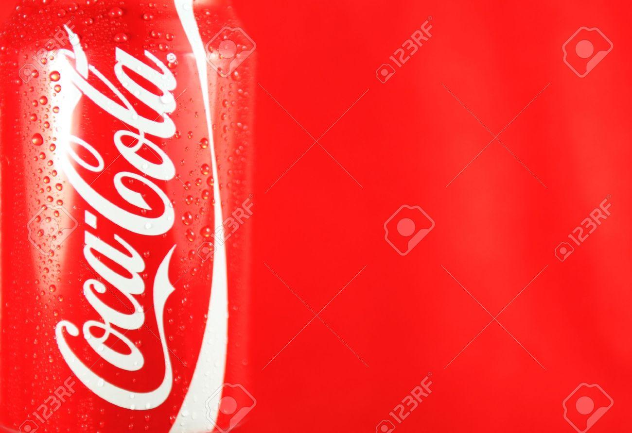 Londra Regno Unito 27 Feb 2012 Logo Coca Cola Rinfresco Può