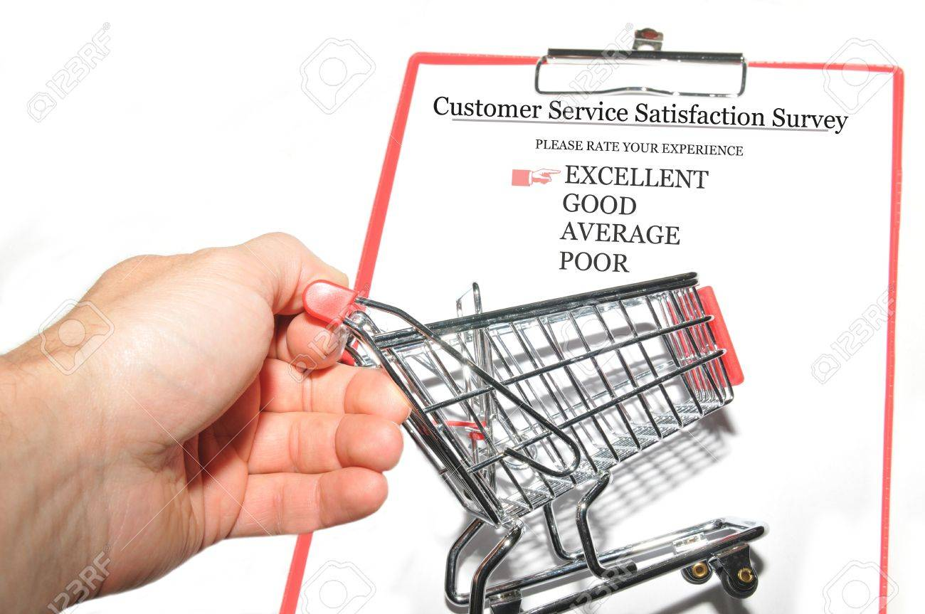 Customer survey Stock Photo - 14470281