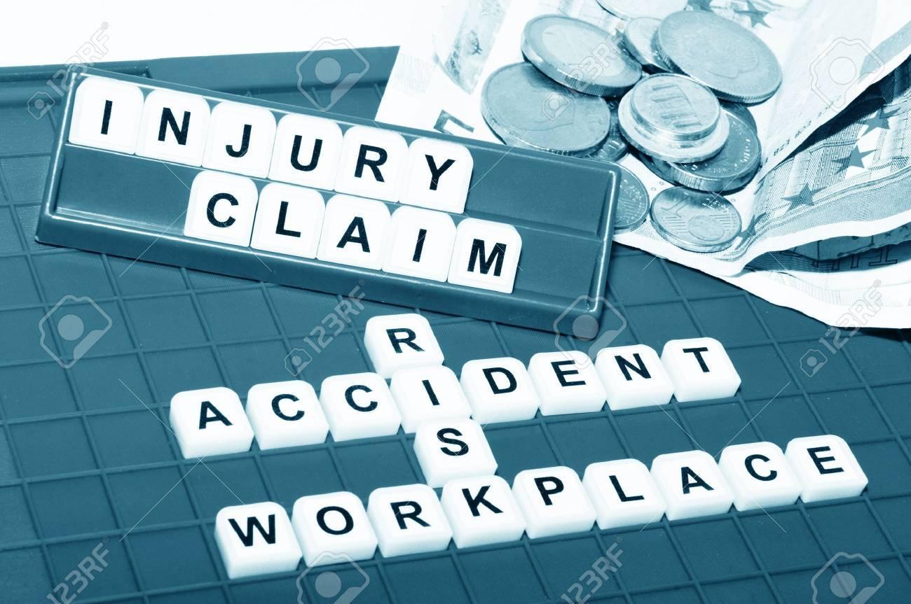 Injury claim Stock Photo - 14456209