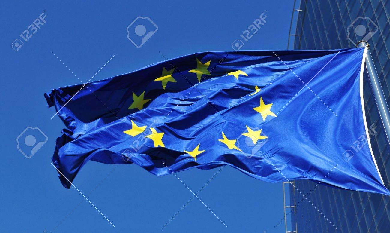 European Union EU flag - 44609480