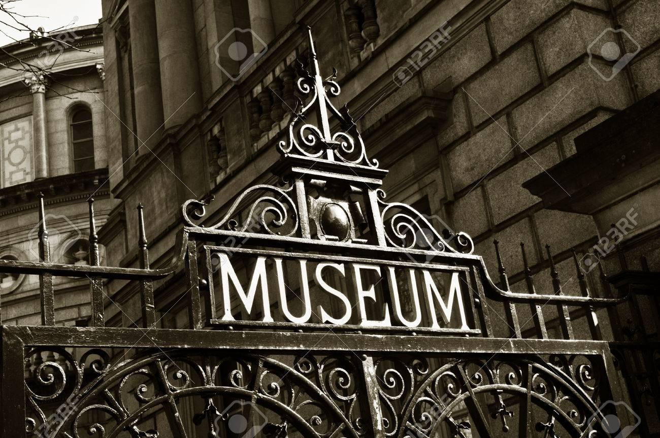 Museum sign - 22361343
