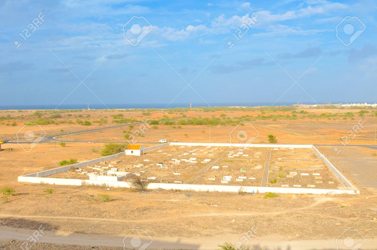 View of Rabil on the island of Boa Vista, Cape Verde - 96362072