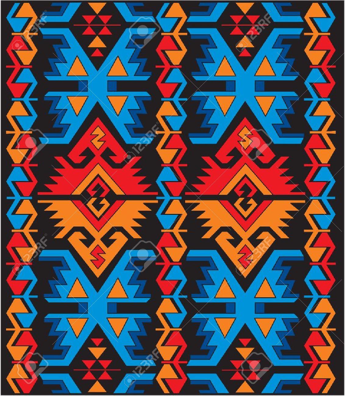 vector mexican ethnic ornaments Stock Vector - 10798916
