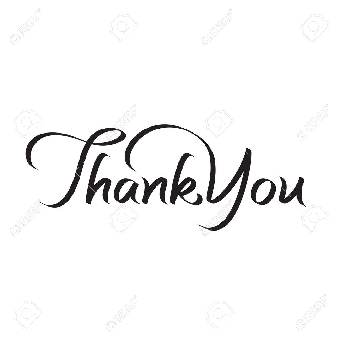 ありがとうございます手レタリング、テキスト、手作り書道、ベクトル